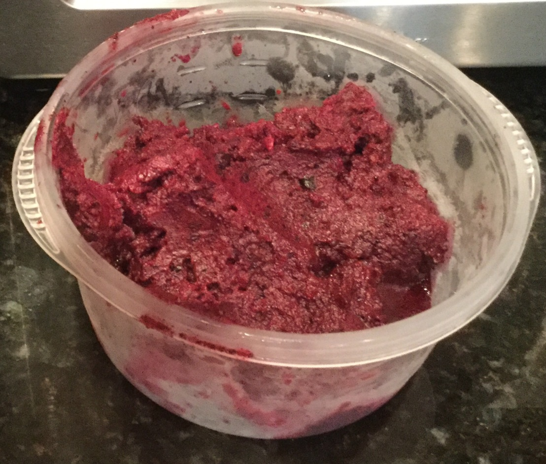 Adventures in Baking No. 20: Blueberry Sorbet!
