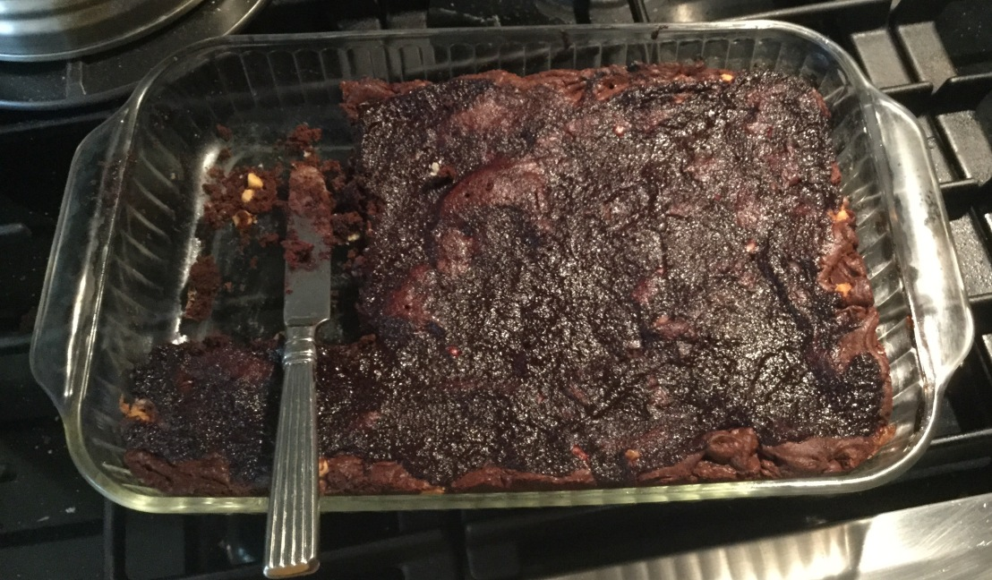 Baking Chronicle No. 15: Cherry Brownies!