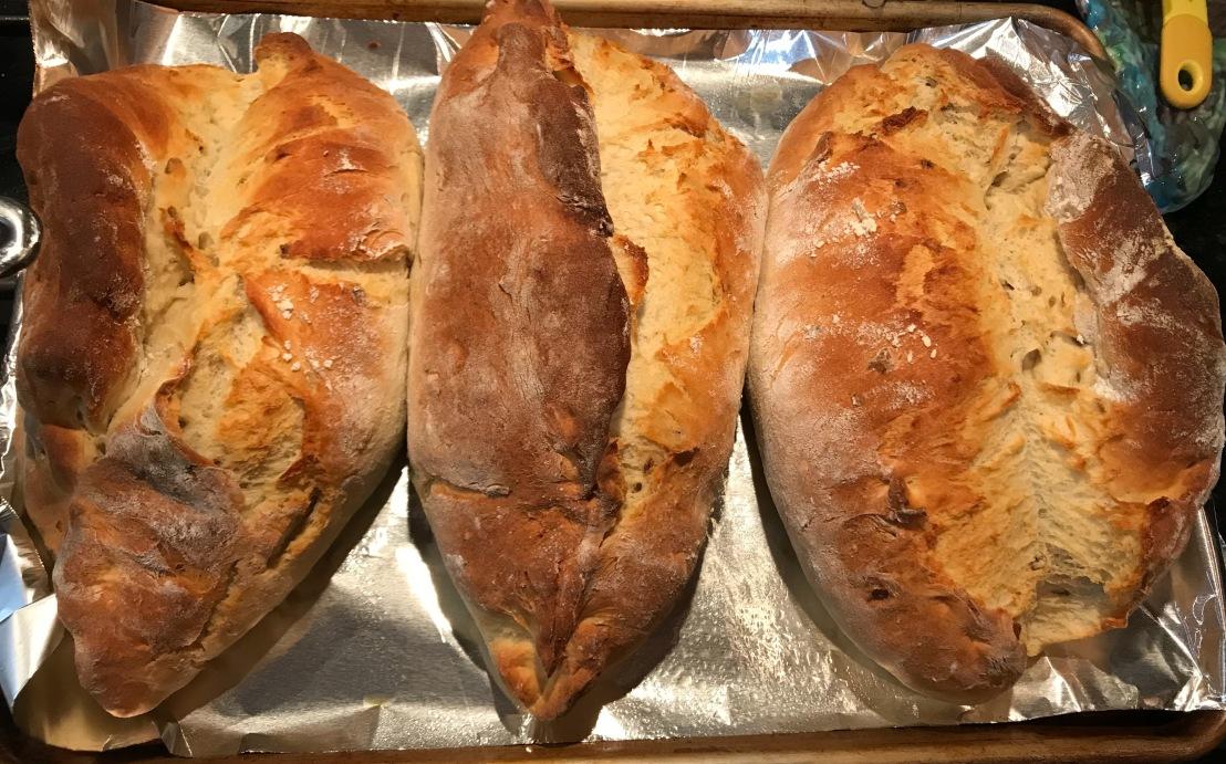 Baking Chronicle No. 45: Rustic PotatoBread!