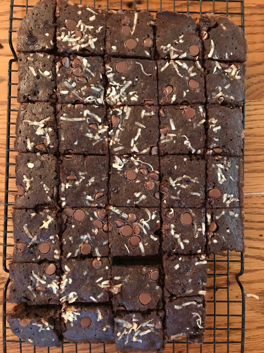 Baking Chronicle No. 57: Coconut FlourBrownies!